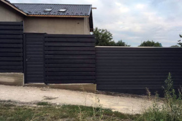 Секционные ворота фото 2