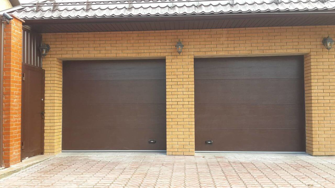 Ремонт гаражных ворот Алютех цена