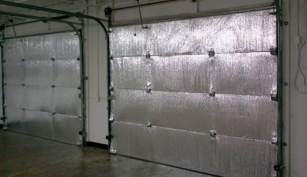 Утепление автоматических ворот