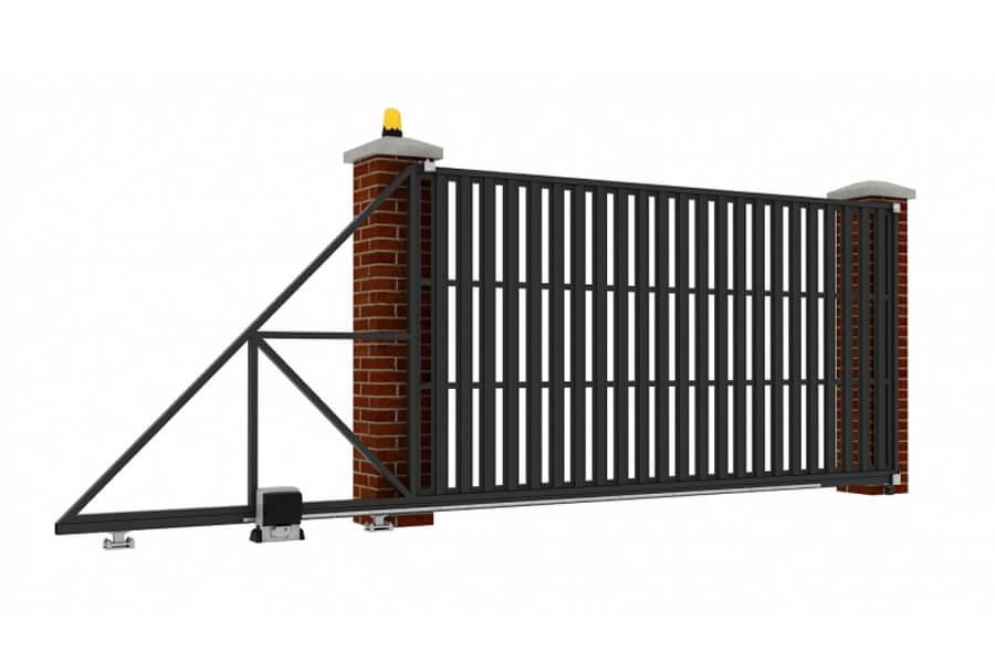 Как выбрать откатные ворота механического типа?