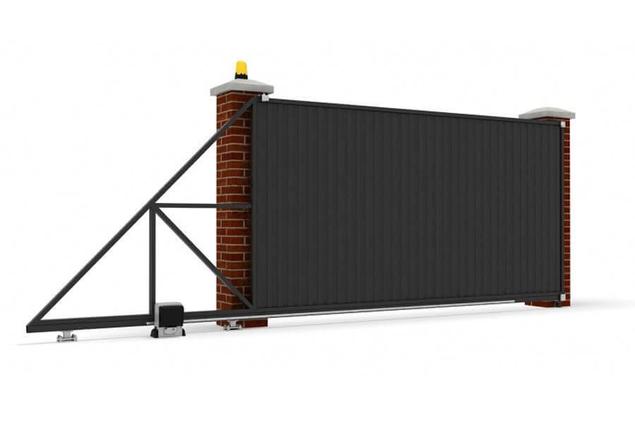 Стоимость изготовления откатных ворот